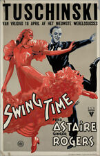 Swing time Ginger Rogers Fred Astaire movie poster #2
