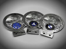 St. Christopher badge mascot emblem German car plaque Mercedes BMW VW Porsche