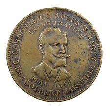 Jeton Publicitaire Marseille Cordonnerie Auguste Marty 1898