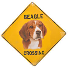 NEW Beagle Dog Crossing Pet Road Sign