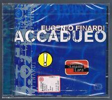 EUGENIO FINARDI IL ACCADUEO SANREMO EDITION CD F.C. SIGILLATO!!!