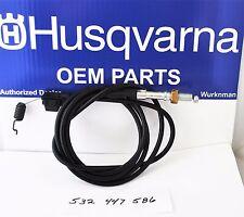 Husqvarna &Craftsman  OEM  532447586 or 447586 Self propel drive cable NEW!