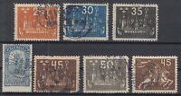 N3904/ SWEDEN – 1903 / 1924 USED SEMI MODERN LOT – CV 230 $