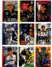 NASCAR Press Pass 2000 autograph 32 card lot