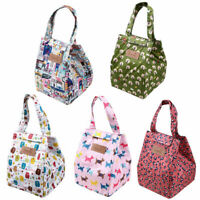 Portable Insulated Thermal Cooler Bento Lunch Bag Tote Travel Picnic Storage Box