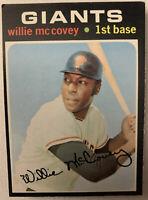 1971 Topps Baseball #50 WILLIE McCOVEY San Francisco Giants EX HOF