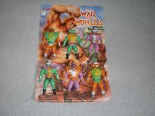 War of the Worlds Figure Lot Berdu's Like Galaxy Warriors Fighters Sungold KO
