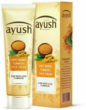 Lever Ayush Anti Marks Turmeric Face Cream For Spot - Less Fairness - 25g / 50g