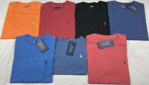 GENUINE Polo by Ralph Lauren Boys Long Sleeve T Shirt Crew and V Neck Age 2 - 20