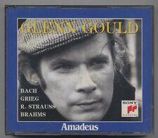 BACH - GRIEG - R. STRAUSS - BRAHMS - Glenn Gould - 2 CD Amadeus 20-21 a264