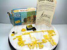 1965 LINDBERG SAND CRAB Model Kit Parts Diorama JUNKYARD INSTRUCTIONS BOX