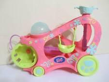 Littlest Pet Shop Car Paw Powered Cruiser Vehicle Playset w/ both baskets/swings