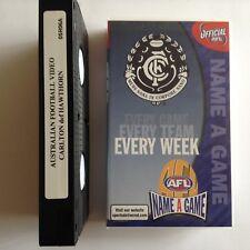 NAME A GAME - CARLTON def HAWTHORN (ROUND 6, 2005) VHS