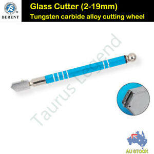 Glazer Glass Cutter Cutting 2-19mm Thickness Oil Feed Glazing BERENT - BT9229