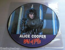 "Alice Cooper - Bed Of Nails UK 1989 Epic 12"" Picture Disc Single"