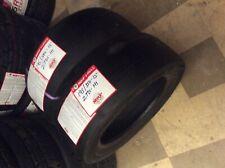 2 x MRF 195/580-15 205 50 15 track day slick racing tyres