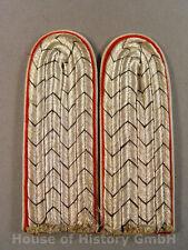 Paar Schulterstücke eines Leutnant im Kürassier Regiment 4, zum Einnähen, 91803