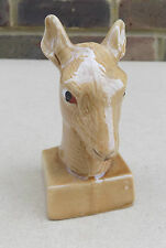 Orlando Cherry Brandy Miniature Deers Head Liquor Bottle (Empty)