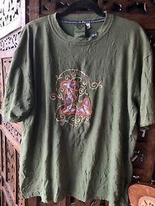 """Unisex Cotton T. Original """"roots People"""" Brand. USA.Embroidered And Appliquéd ."""