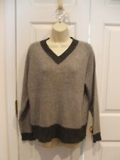 FADED GLORY GRAY V NECK PULLOVER  SWEATER SIZE SMALL 4-6