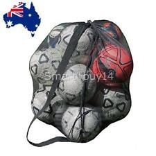 Mesh Net Ball Carry Bag Sport Basketball Football Volleyball Soccer Nylon Bags