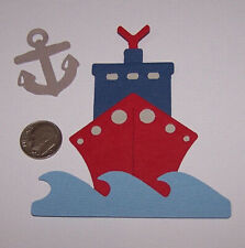 1 Cruise Ship Premade PAPER Die Cuts / Scrapbook & Card Making
