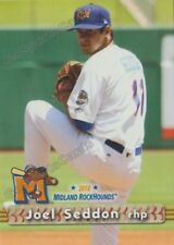 2018 Midland RockHounds Joel Seddon RC Rookie Oakland Athletics