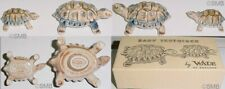 80's Wade of England Baby Tortoises / Turtles Porcelain Figurines New