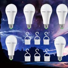 6 Pack EBULB Rechargeable Emergency LED 12W LED Bulb Smart Lamp with Hook
