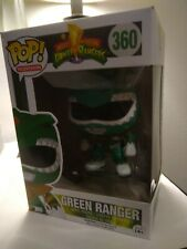 FUNKO Pop TV: Power Rangers - Green Ranger #360 - NM- Shipped W/ Protective Case