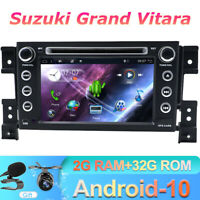 For Suzuki Grand Vitara 2005~2013 GPS Car Stereo DVD Android 10.0 Sat Nav 4G DAB