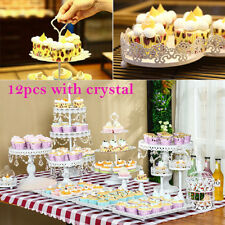 White Wedding Cake Cupcake Stands for sale | eBay