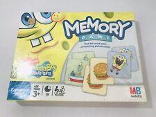 Nickelodeon Spongebob Squarepants Memory Game 2008 Edition NEW Sealed MB GAMES