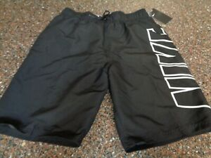 """Nike Volley Board Shorts Men's Small 9"""" Ins Swim Trunks Black NESS9508-001 NWT"""