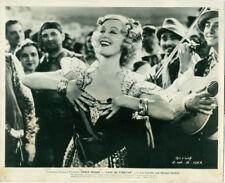 GRACE MOORE Love Me Forever Orig 1935 Movie Photo Singing