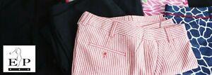 EP Pro GOLF Women's Size 12 Print Skort Seersucker Capri Pants NWT – NWOT