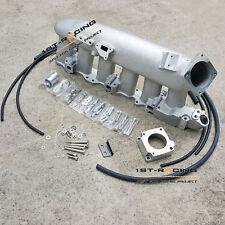 Intake Manifold Plenum & Throttle Adapter Kit For Nissan RB25DET GTS R32 R33 R34