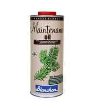 Blanchon Maintenance Oil Natural 1 Litre