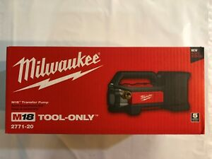 Milwaukee 2771-20 M18 Self Priming Cordless Transfer Pump New in Box