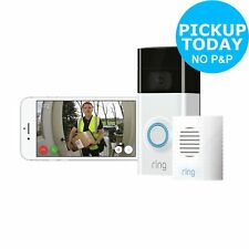 Ring HD Video Doorbell 2 with Chime and Enabled Speaker