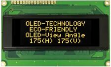 OLED Display Module, 20x4, Yellow - WINSTAR