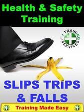 Slips Trips & Falls - Danger at Work Risk UK Health & Safety Training Made Easy