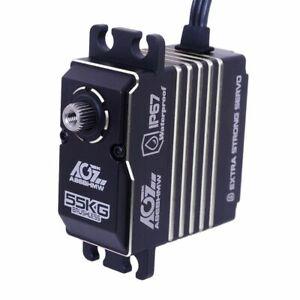 Brushless Servo 55KG 0.11sec HV AGF-RC A86BHMW Full Metal Case Waterproof UK