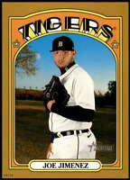 Joe Jimenez 2021 Topps Heritage 5x7 Gold #491 SP /10 Tigers