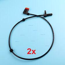 2Pcs Rear ABS Wheel Speed Sensor For Mercedes W216 W221 CL550 LeftRight