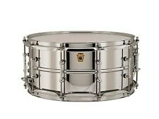 Ludwig supraphonic snare drum, 14x6.5in, tube lugs