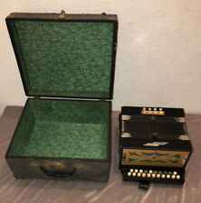W.O.P. Altes Mini Akkordeon Ziehharmonika