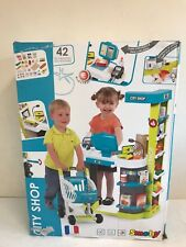 Smoby City Shop Supermarket Trolley Kids Child Pretend Role Play NEW UNBOXED