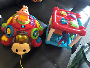 Vtech Turn & Learn Activity Cube Baby Toy + FREE Vtech