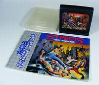 STREETS OF RAGE für Sega Game Gear - nur GG Spiel Modul mit Anleitung